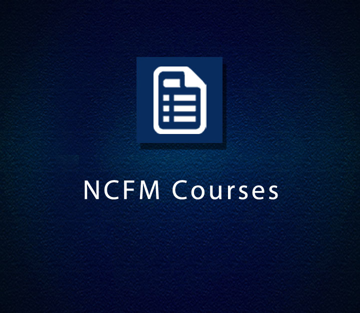 NCFM Courses - Beginner - 22 Sessions