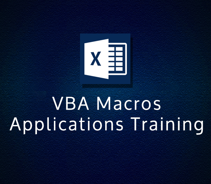 VBA Macros Applications Training - Intermediate - 4 Sessions