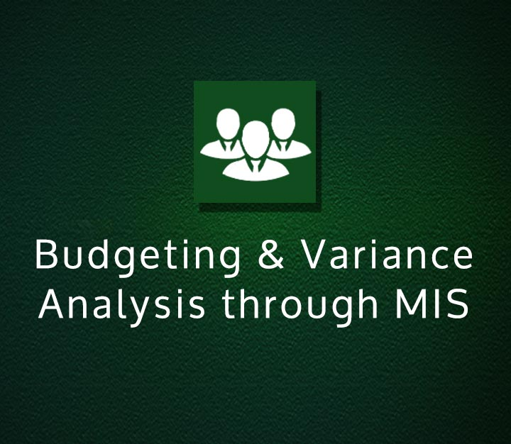 Budgeting & Variance Analysis through MIS - Intermediate - 3 Sessions