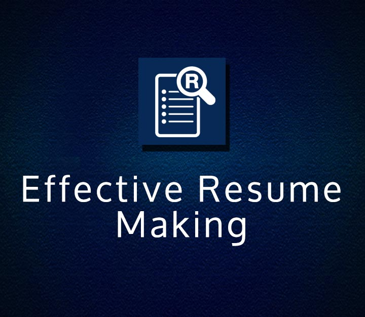 Effective Resume Making - Beginner - 2 Sessions