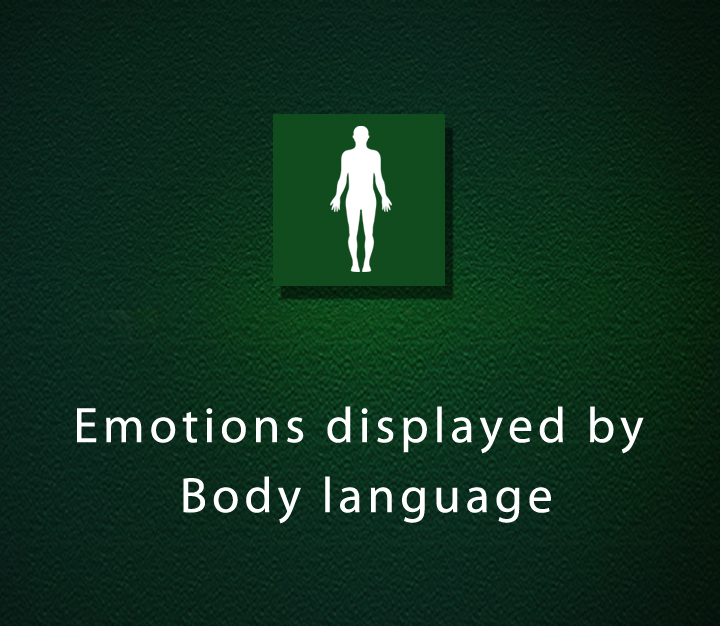Emotions displayed by Body language - Beginner - 2 Sessions