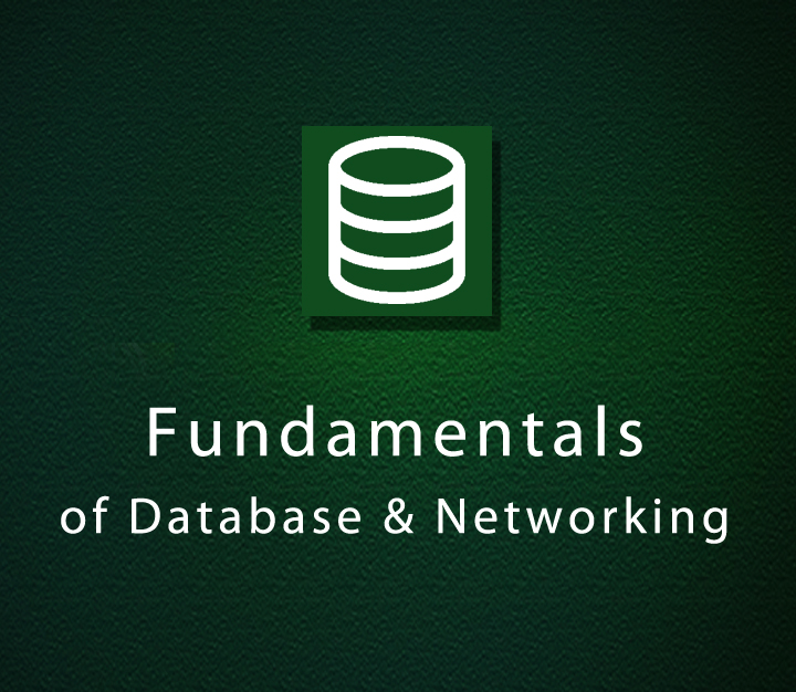 Fundamentals of Database & Networking - Intermediate - 1 Session