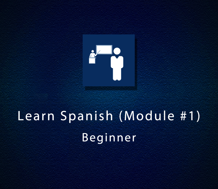 Learn Spanish (Module 1) - Beginner - All Levels - 14 Sessions