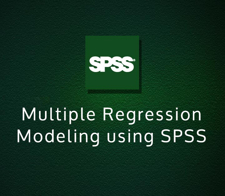Multiple Regression Modeling using SPSS | Expert | 3 Sessions