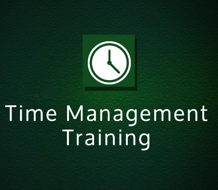 Time Management Training - All Levels- 3 Sessions