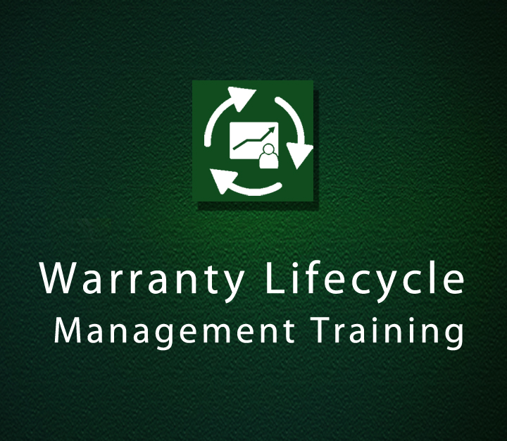 Warranty Lifecycle Management Training - All Levels - 1 Session
